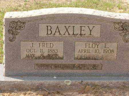 BAXLEY, J. FRED - Saline County, Arkansas | J. FRED BAXLEY - Arkansas Gravestone Photos