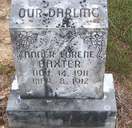 BAXTER, ANNER LORENE - Saline County, Arkansas | ANNER LORENE BAXTER - Arkansas Gravestone Photos