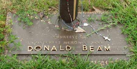 BEAM, DONALD - Saline County, Arkansas   DONALD BEAM - Arkansas Gravestone Photos