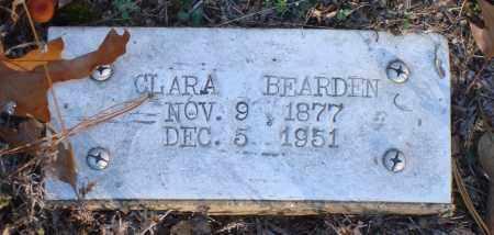 BEARDEN, CLARA - Saline County, Arkansas | CLARA BEARDEN - Arkansas Gravestone Photos