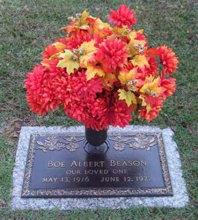 BEASON, BOE ALBERT - Saline County, Arkansas | BOE ALBERT BEASON - Arkansas Gravestone Photos