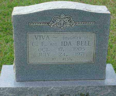 BELL, VIVA - Saline County, Arkansas | VIVA BELL - Arkansas Gravestone Photos