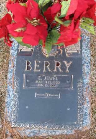 BERRY, E. JEWEL - Saline County, Arkansas   E. JEWEL BERRY - Arkansas Gravestone Photos