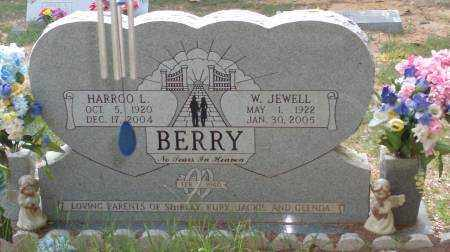 BERRY, W. JEWELL - Saline County, Arkansas | W. JEWELL BERRY - Arkansas Gravestone Photos