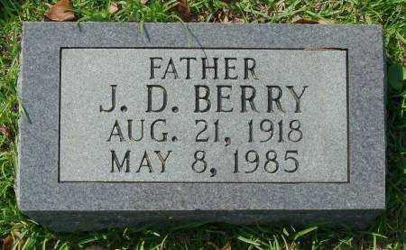 BERRY, J.D. - Saline County, Arkansas | J.D. BERRY - Arkansas Gravestone Photos