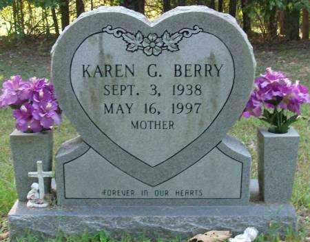 BERRY, KAREN G - Saline County, Arkansas | KAREN G BERRY - Arkansas Gravestone Photos
