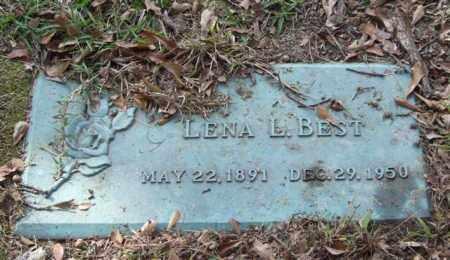 BEST, LENA L. - Saline County, Arkansas | LENA L. BEST - Arkansas Gravestone Photos