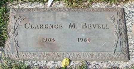BEVELL, CLARENCE M. - Saline County, Arkansas | CLARENCE M. BEVELL - Arkansas Gravestone Photos