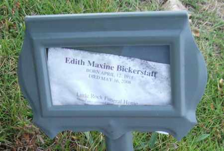 BICKERSTAFF, EDITH MAXINE - Saline County, Arkansas | EDITH MAXINE BICKERSTAFF - Arkansas Gravestone Photos