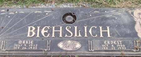 BIEHSLICH, MARIE - Saline County, Arkansas | MARIE BIEHSLICH - Arkansas Gravestone Photos