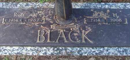 BLACK, ROSE H. - Saline County, Arkansas   ROSE H. BLACK - Arkansas Gravestone Photos