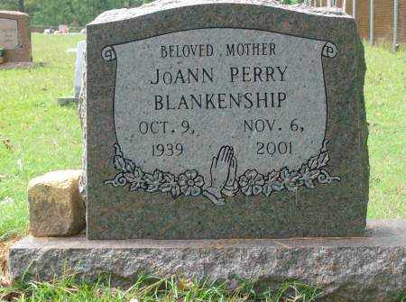 PERRY BLANKENSHIP, JOANN - Saline County, Arkansas | JOANN PERRY BLANKENSHIP - Arkansas Gravestone Photos