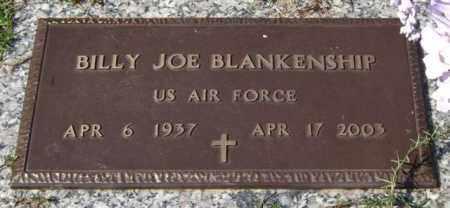 BLANKENSHIP (VETERAN), BILLY JOE - Saline County, Arkansas | BILLY JOE BLANKENSHIP (VETERAN) - Arkansas Gravestone Photos