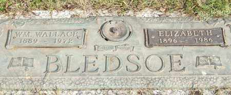 BLEDSOE, WILLIAM WALLACE - Saline County, Arkansas | WILLIAM WALLACE BLEDSOE - Arkansas Gravestone Photos