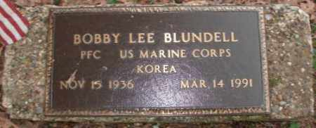 BLUNDELL (VETERAN KOR), BOBBY LEE - Saline County, Arkansas | BOBBY LEE BLUNDELL (VETERAN KOR) - Arkansas Gravestone Photos