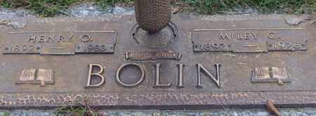 BOLIN, HENRY O. - Saline County, Arkansas | HENRY O. BOLIN - Arkansas Gravestone Photos