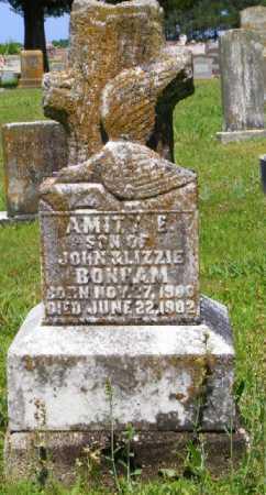 BONHAM, AMITY E. - Saline County, Arkansas | AMITY E. BONHAM - Arkansas Gravestone Photos
