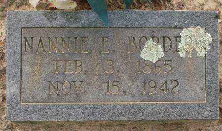 BORDERS, NANNIE E. - Saline County, Arkansas | NANNIE E. BORDERS - Arkansas Gravestone Photos