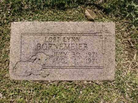 BORNEMEIER, LORI LYNN - Saline County, Arkansas | LORI LYNN BORNEMEIER - Arkansas Gravestone Photos
