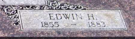 BOWEN, EDWIN H. (CLOSEUP) - Saline County, Arkansas   EDWIN H. (CLOSEUP) BOWEN - Arkansas Gravestone Photos