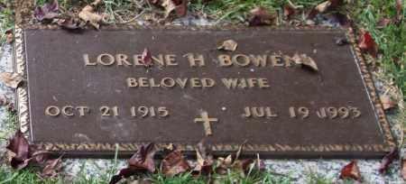 BOWEN, LORENE H. - Saline County, Arkansas | LORENE H. BOWEN - Arkansas Gravestone Photos