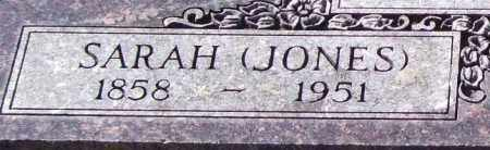 JONES BOWEN, SARAH (CLOSEUP) - Saline County, Arkansas | SARAH (CLOSEUP) JONES BOWEN - Arkansas Gravestone Photos