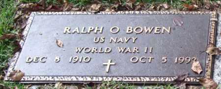 BOWEN (VETERAN WWII), RALPH O - Saline County, Arkansas | RALPH O BOWEN (VETERAN WWII) - Arkansas Gravestone Photos