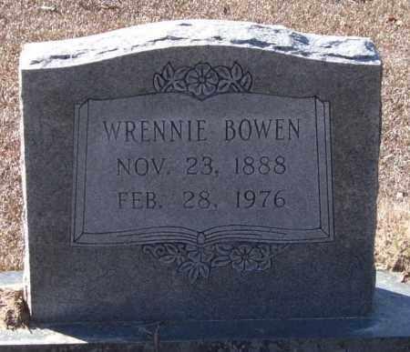 KELLEY BOWEN, WRENNIE - Saline County, Arkansas | WRENNIE KELLEY BOWEN - Arkansas Gravestone Photos
