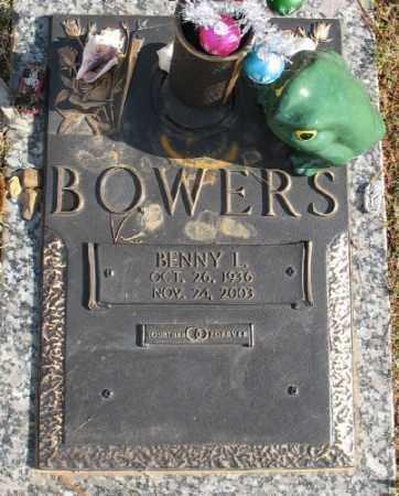 BOWERS, BENNY L. - Saline County, Arkansas | BENNY L. BOWERS - Arkansas Gravestone Photos