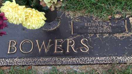 BOWERS, EDWARD A. - Saline County, Arkansas | EDWARD A. BOWERS - Arkansas Gravestone Photos