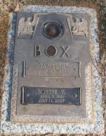 BOX, JAMES P. - Saline County, Arkansas | JAMES P. BOX - Arkansas Gravestone Photos