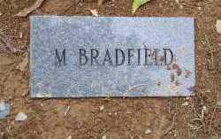 BRADFIELD, M. - Saline County, Arkansas   M. BRADFIELD - Arkansas Gravestone Photos