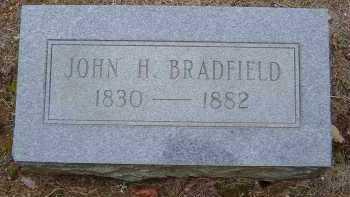 BRADFIELD, JOHN HENINGER - Saline County, Arkansas | JOHN HENINGER BRADFIELD - Arkansas Gravestone Photos