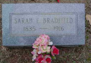 BRADFIELD, SARAH E. - Saline County, Arkansas | SARAH E. BRADFIELD - Arkansas Gravestone Photos