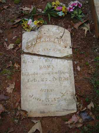 BRADFIELD, SUSANNAH - Saline County, Arkansas   SUSANNAH BRADFIELD - Arkansas Gravestone Photos