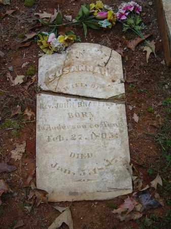 BRADFIELD, SUSANNAH - Saline County, Arkansas | SUSANNAH BRADFIELD - Arkansas Gravestone Photos