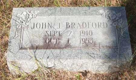 BRADFORD, JOHN J. - Saline County, Arkansas | JOHN J. BRADFORD - Arkansas Gravestone Photos