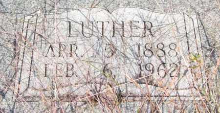 BRADFORD, LUTHER (CLOSEUP) - Saline County, Arkansas | LUTHER (CLOSEUP) BRADFORD - Arkansas Gravestone Photos