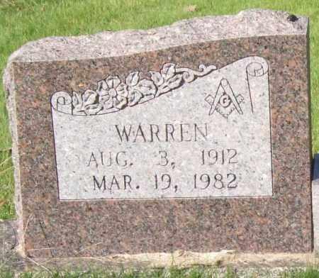 BRADFORD, WARREN (CLOSEUP) - Saline County, Arkansas | WARREN (CLOSEUP) BRADFORD - Arkansas Gravestone Photos