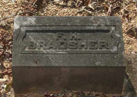 BRADSHER, F. H. - Saline County, Arkansas | F. H. BRADSHER - Arkansas Gravestone Photos