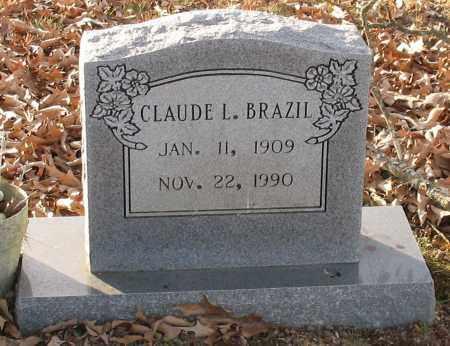 BRAZIL, CLAUDE L. - Saline County, Arkansas | CLAUDE L. BRAZIL - Arkansas Gravestone Photos