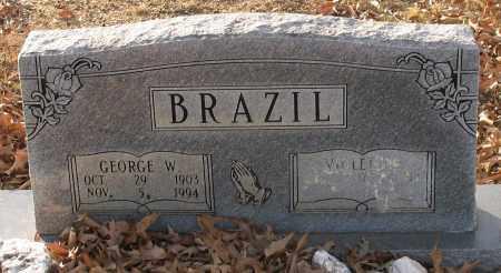BRAZIL, GEORGE W. - Saline County, Arkansas   GEORGE W. BRAZIL - Arkansas Gravestone Photos