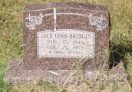 BRIDGES, JACK LYNN - Saline County, Arkansas | JACK LYNN BRIDGES - Arkansas Gravestone Photos