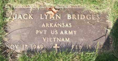 BRIDGES (VETERAN VIET), JACK LYNN - Saline County, Arkansas | JACK LYNN BRIDGES (VETERAN VIET) - Arkansas Gravestone Photos
