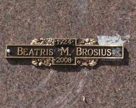GIPSON BROSIUS, BEATRIS MAE - Saline County, Arkansas | BEATRIS MAE GIPSON BROSIUS - Arkansas Gravestone Photos