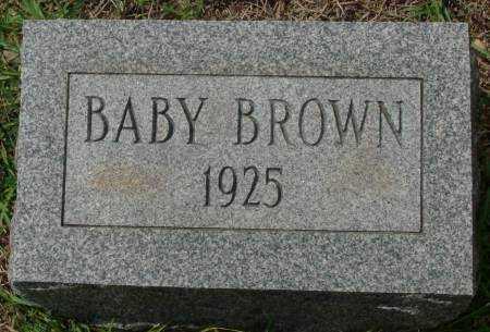 BROWN, BABY - Saline County, Arkansas | BABY BROWN - Arkansas Gravestone Photos