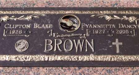 BROWN, FYANNETTA DANCY - Saline County, Arkansas | FYANNETTA DANCY BROWN - Arkansas Gravestone Photos