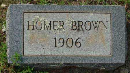 BROWN, HOMER - Saline County, Arkansas   HOMER BROWN - Arkansas Gravestone Photos