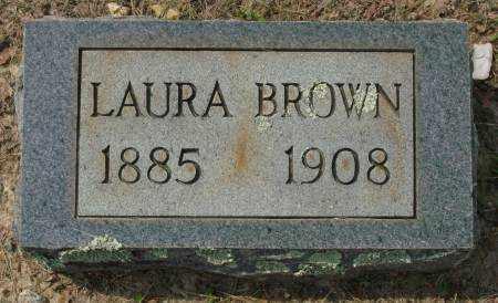 BROWN, LAURA - Saline County, Arkansas | LAURA BROWN - Arkansas Gravestone Photos