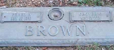 BROWN, GROVER C. - Saline County, Arkansas | GROVER C. BROWN - Arkansas Gravestone Photos